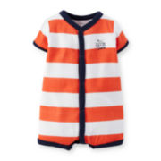 Carter's® Striped Creeper – Baby Boys newborn-24m