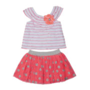 Little Lass Top and Scooter Set – Toddler Girls 2t-4t