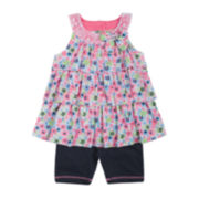 Little Lass Top and Shorts Set – Toddler Girls 2t-4t