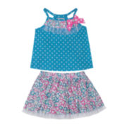 Little Lass Top and Scooter Set - Toddler Girls 2t-4t
