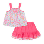 Little Lass Top and Scooter Set - Preschool Girls 4-6x