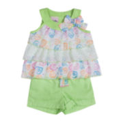 Little Lass Top and Shorts Set – Preschool Girls 4-6x
