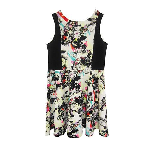 Marmellata Floral Skater Dress - Girls 7-16