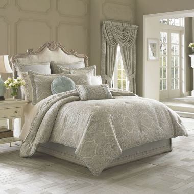 jcpenney.com | Queen Street® Carlina 4-pc. Jacquard Comforter Set & Accessories