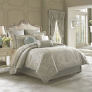 Queen Street® Carlina 4-pc. Jacquard Comforter Set & Accessories