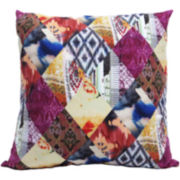 Diamond Quilt Decorative Pillow