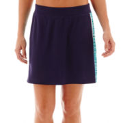 Made For Life™ Mesh Skort with Print Inset - Tall