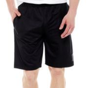 Reebok® Embossed Poly Shorts