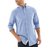 St. John's Bay® Long-Sleeve Legacy Poplin Shirt