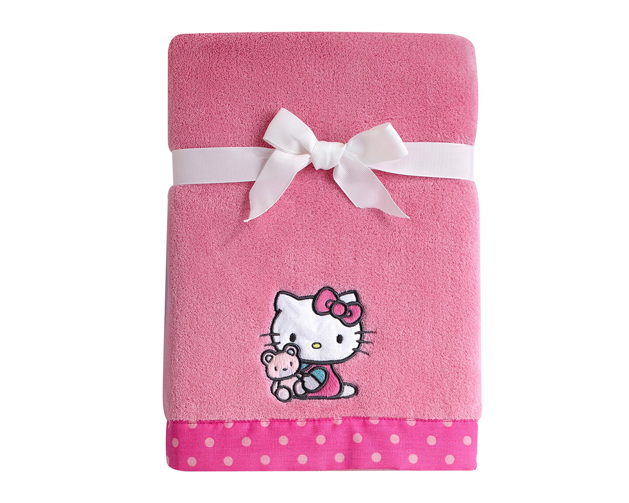NoJo Sanrio - Hello Kitty Fleece Blanket Comforters