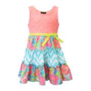Lilt Sleeveless Three-Tier Dress - Toddler Girls 2t-4t