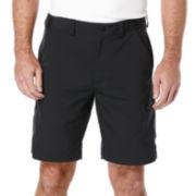 PGA TOUR® Hybrid Utility Flat-Front Shorts