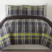 Home Expressions™ Harley Plaid Complete Bedding Set with Sheets & Accessories