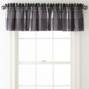 Home Expressions™ Harley Rod-Pocket Valance