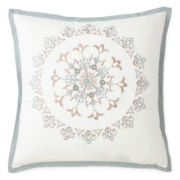 "Eva Longoria Home Briella 18"" Square Decorative Pillow"
