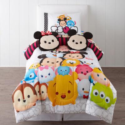 "Disney® TsumTsum ""Faces"" Twin Reversible Comforter"