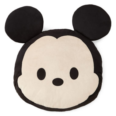 "jcpenney.com | Disney® TsumTsum ""Faces"" Mickey Mouse Pillow Buddy"