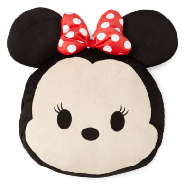 "jcpenney.com | Disney® TsumTsum ""Faces"" Minnie Mouse Pillow Buddy"