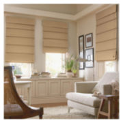JCPenney Home™ Custom Savannah III Roman Shade - FREE SWATCH