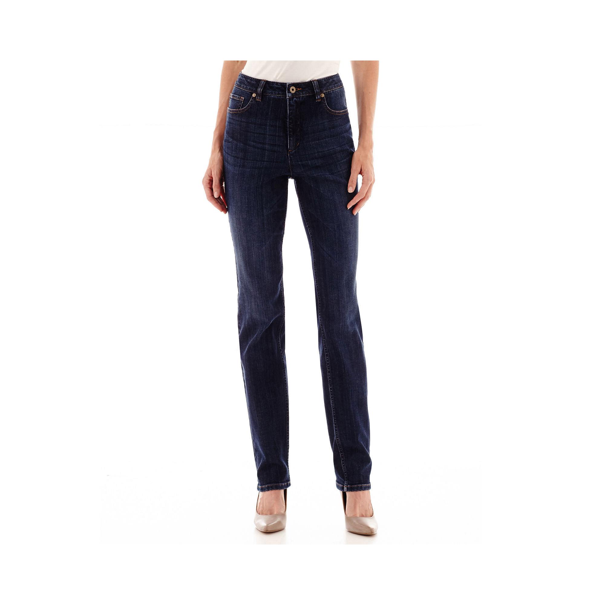Liz Claiborne Essential Original-Fit Jeans - Tall