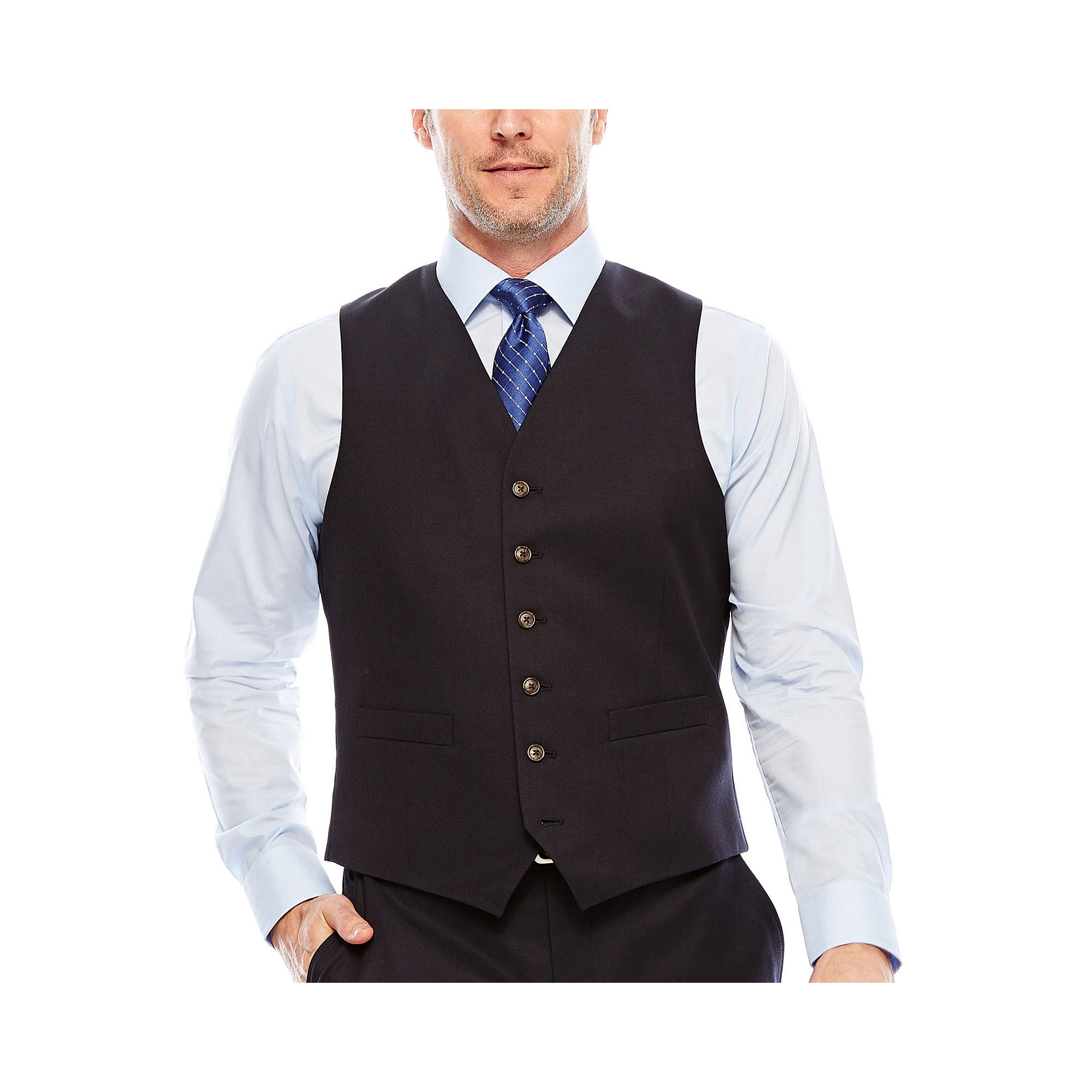 Stafford Travel Suit Vest - Classic