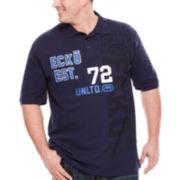 Ecko Unltd.® 72 Short-Sleeve Polo Shirt - Big & Tall