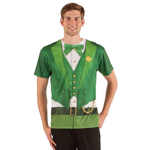 St. Patrick's Day Leprechaun Adult Shirt S