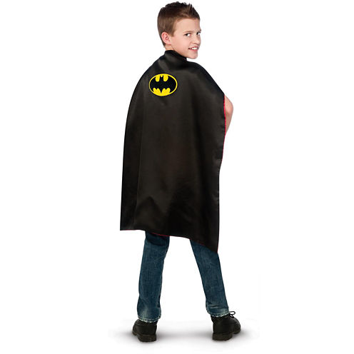 Batman to Superman Reversible Cape Child - One-Size