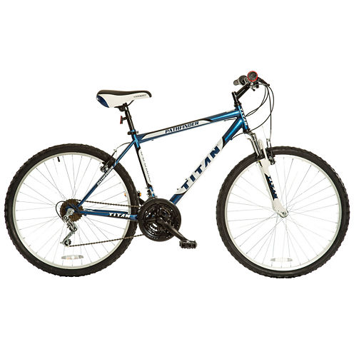 "TITAN Pathfinder 26"" Men's Mountain Bike with Suspension"
