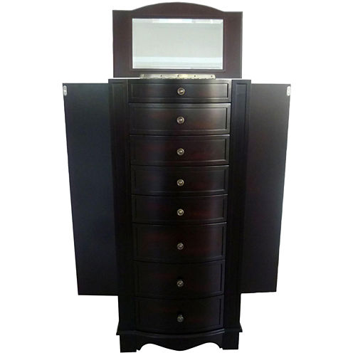 Mele & Co. Chelsea Jewelry Armoire