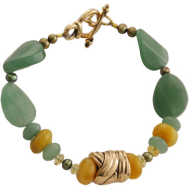 jcpenney.com | Art Smith by BARSE Green & Yellow Gemstone Bracelet