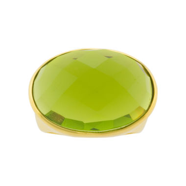 jcpenney.com | ATHRA Green Oval Glass Ring