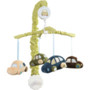 Sumersault Classic Cars Crib Musical Mobile