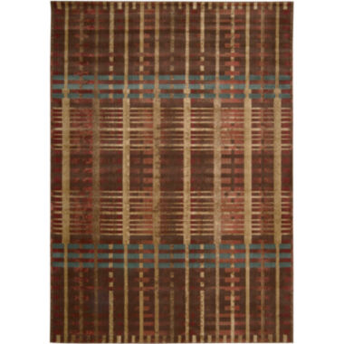 jcpenney.com | Nourison® Simply Plaid Area Rectangular Rugs