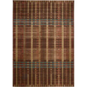 Nourison® Simply Plaid Area Rectangular Rugs