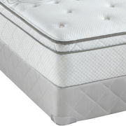 Sealy® Posturepedic® Noranda Cushion-Firm Euro-Top - Mattress + Box Spring