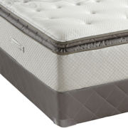 Sealy® Posturepedic® West Plains Cushion-Firm Euro Pillow-Top Mattress