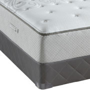 Sealy® Posturepedic® West Plains Plush Tight-Top Mattress and Box Spring