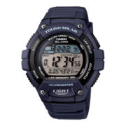 Casio® Solar Runner Womens Large Case Watch WS220-2A