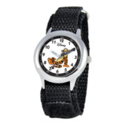 Disney Kids Time Teacher Tigger Fast Strap Watch