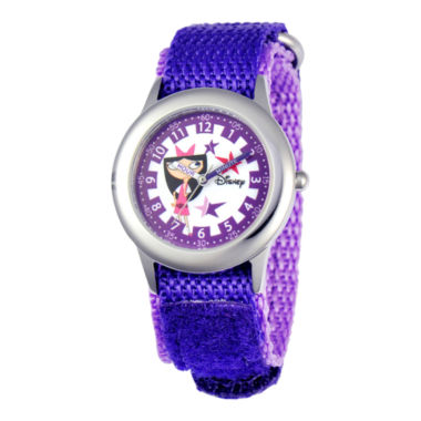 jcpenney.com | Disney Kids Time Teacher Isabella Fast Strap Watch