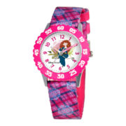 Disney Kids Merida Easy-Read Pink Watch