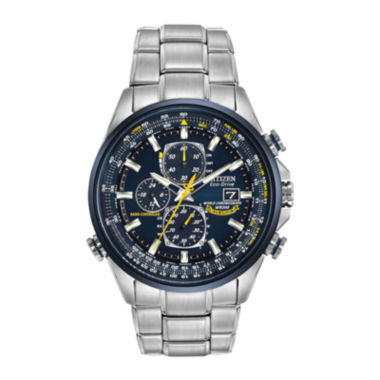 jcpenney.com | Citizen® Eco-Drive® Mens Blue Angels World Chronograph A-T Watch AT8020-54L