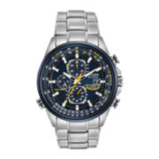Citizen® Eco-Drive™ Mens Blue Angels World Chronograph A-T Watch AT8020-54L