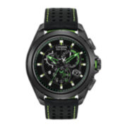 Citizen® Proximity Mens Black & Green Watch w/ Bluetooth 4.0 AT7035-01E
