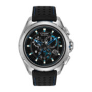 Citizen® Proximity Mens Black & Blue Watch w/ Bluetooth 4.0 AT7030-05E