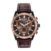 Citizen® Eco-Drive™ Perpetual Chrono A-T Mens Rose-Tone 20ATM Chronograph Watch AT4006-06X