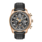Citizen® Eco-Drive™ World Time A-T Mens Gold-Tone 20ATM Watch  AT9013-03H