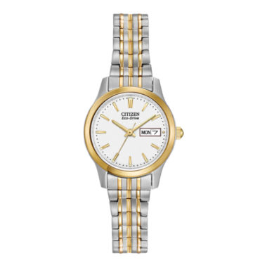jcpenney.com | Citizen® Eco-Drive® Mens Expansion Band Watch EW3154-90A