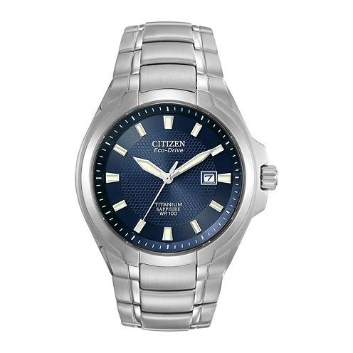 Citizen® Eco-Drive® Mens Titanium Watch BM7170-53L